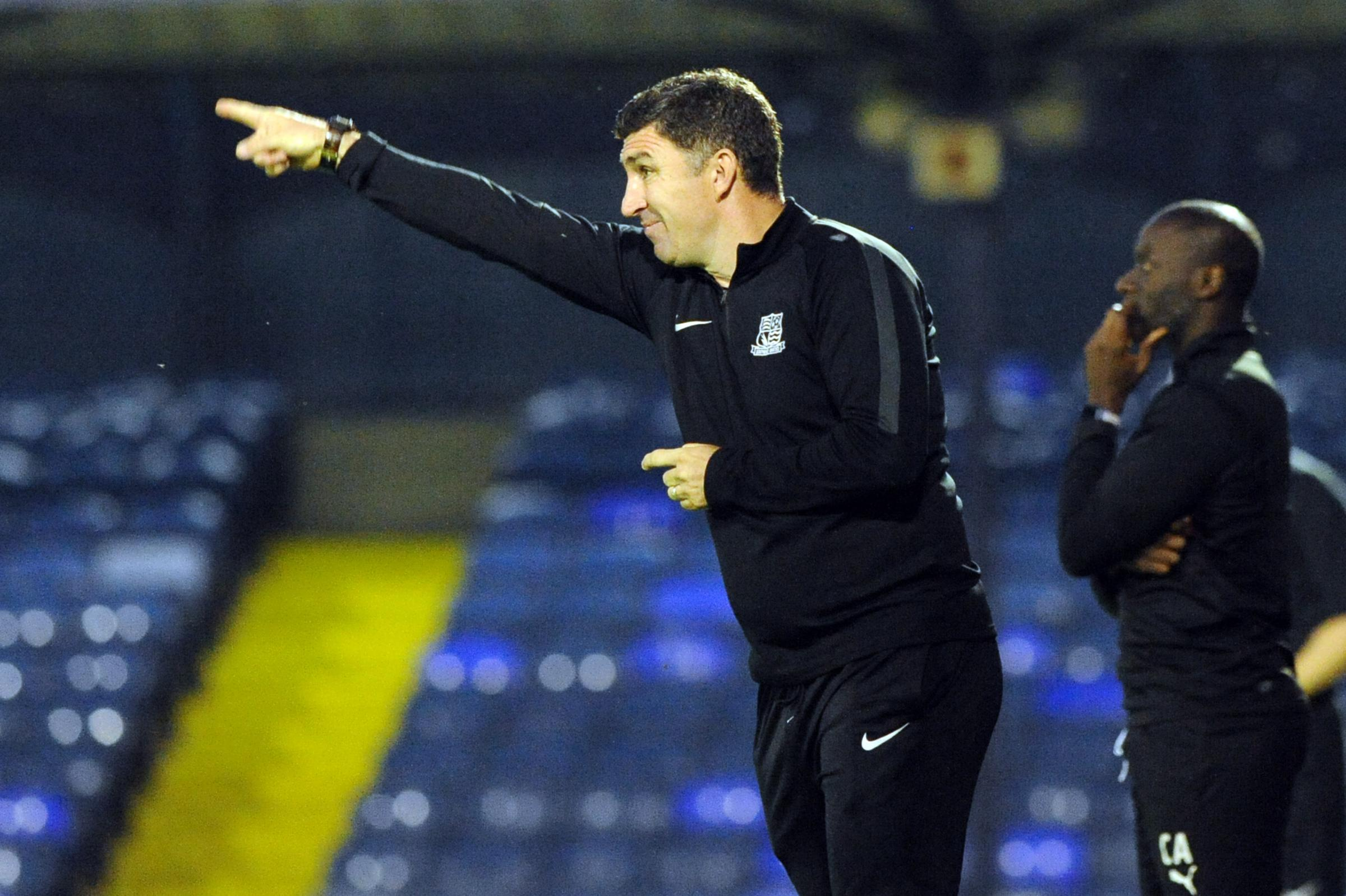 Expecting a tough test - Southend United coach Kevin Maher