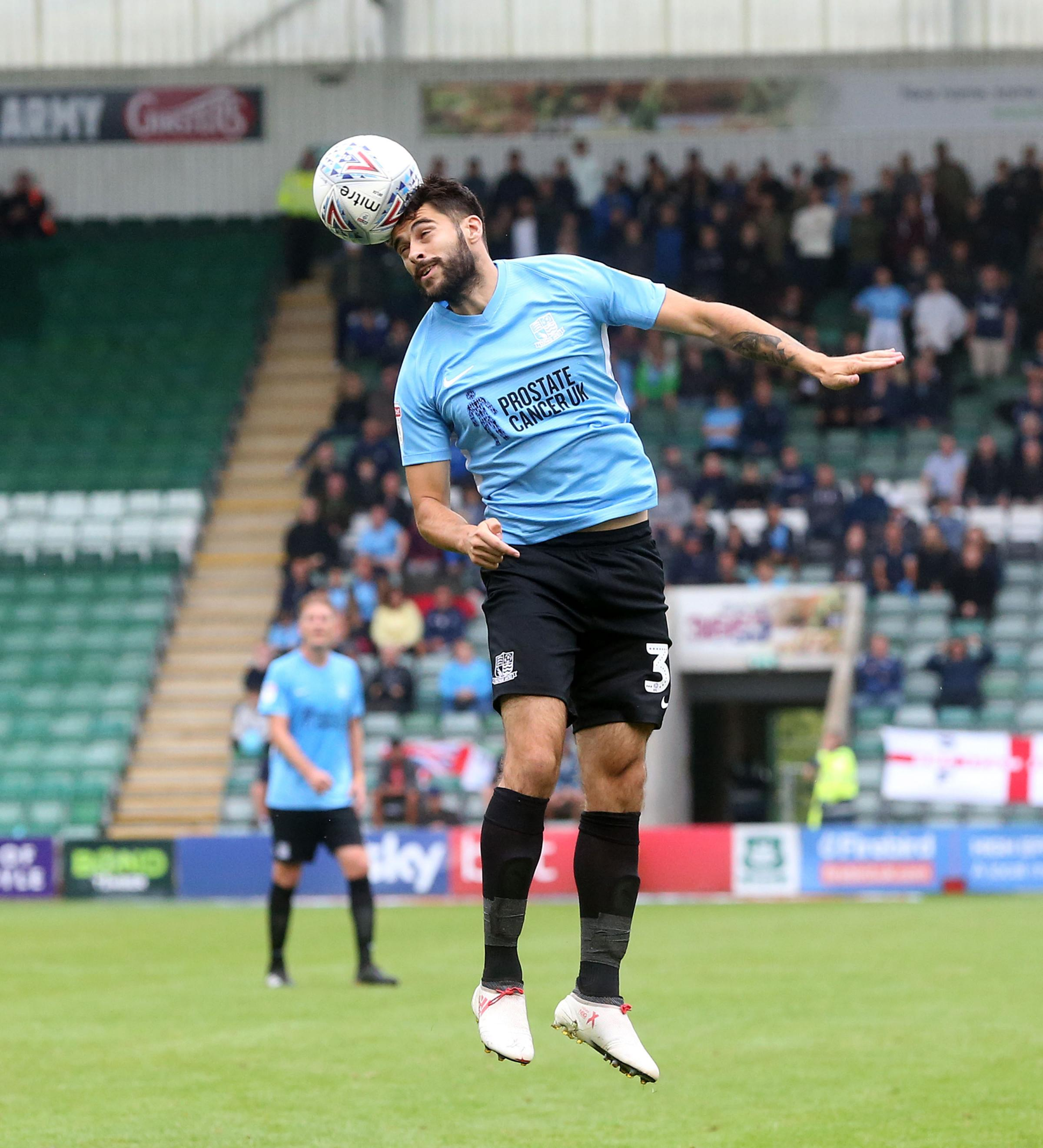 Eager to take his chance - Southend United defender Stephen Hendrie