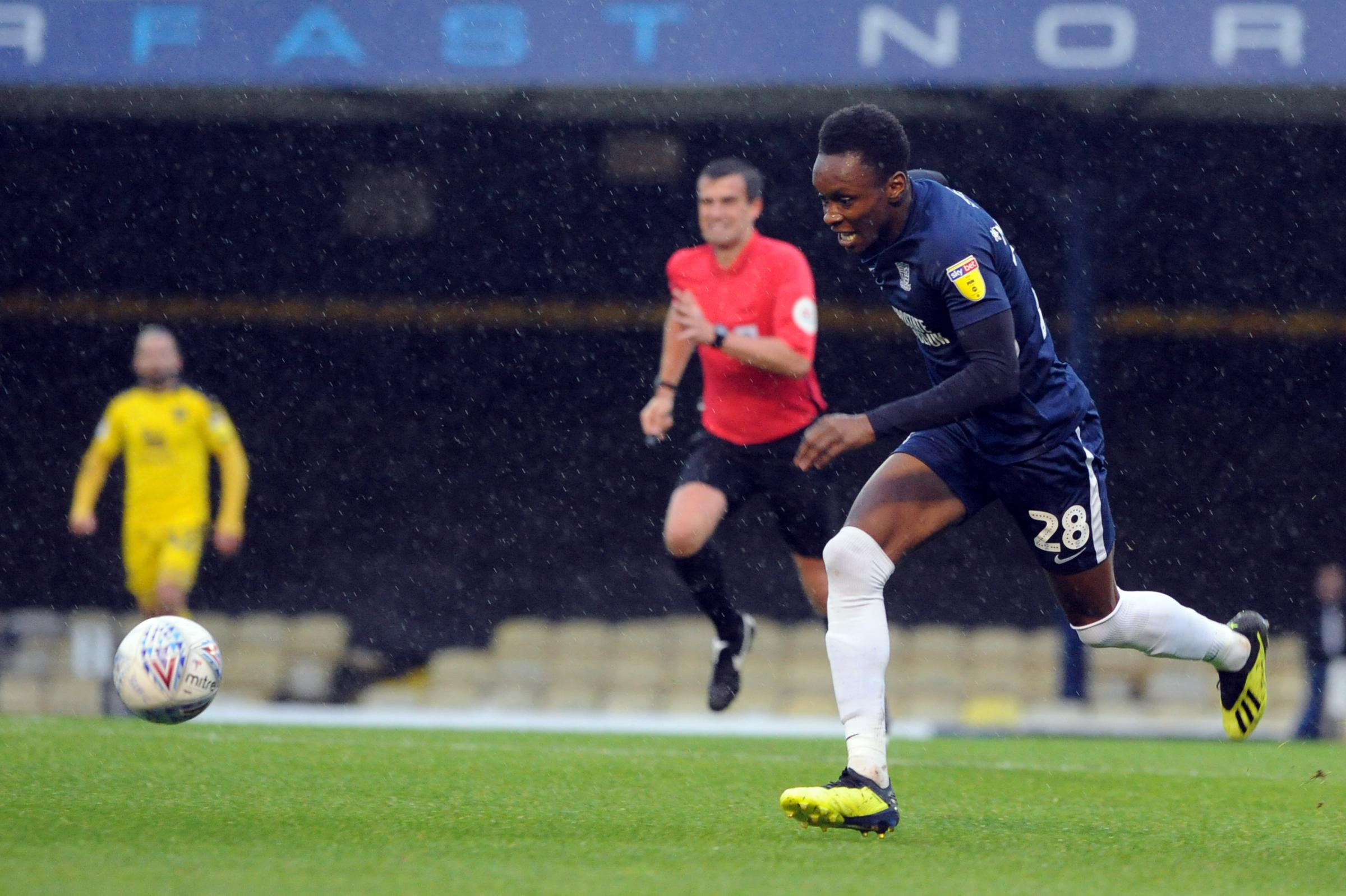 Off the bench - Shawn McCoulsky has been Blues' most used substitute so far this season