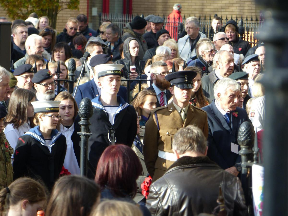 Remembrance Sunday Leigh On Sea