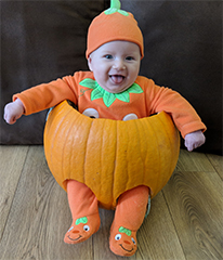 Echo: Little Pumpkin Pic 1 Dotty Burns