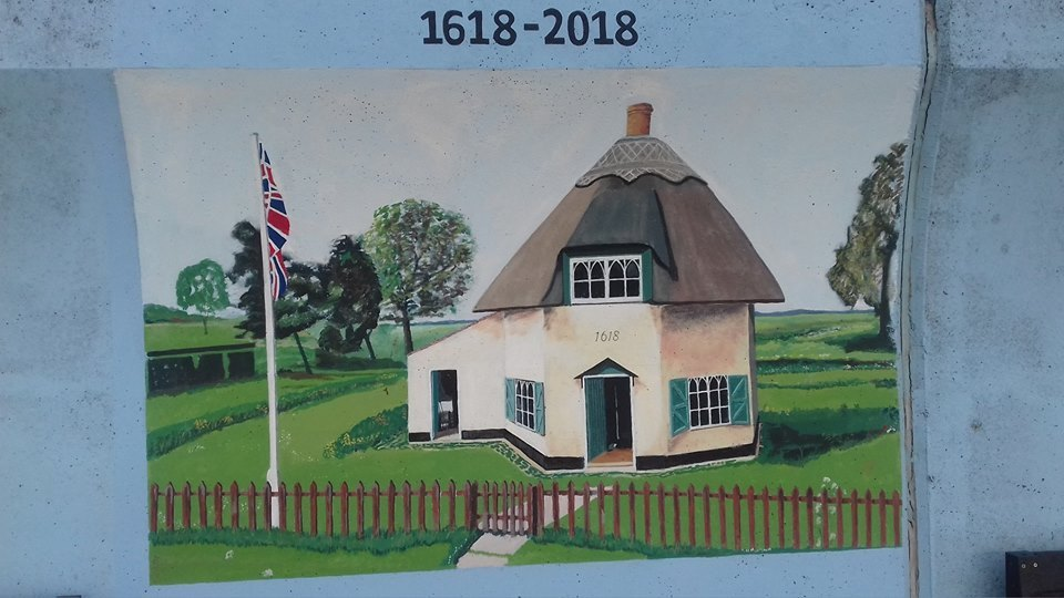 dutch Cottage mural