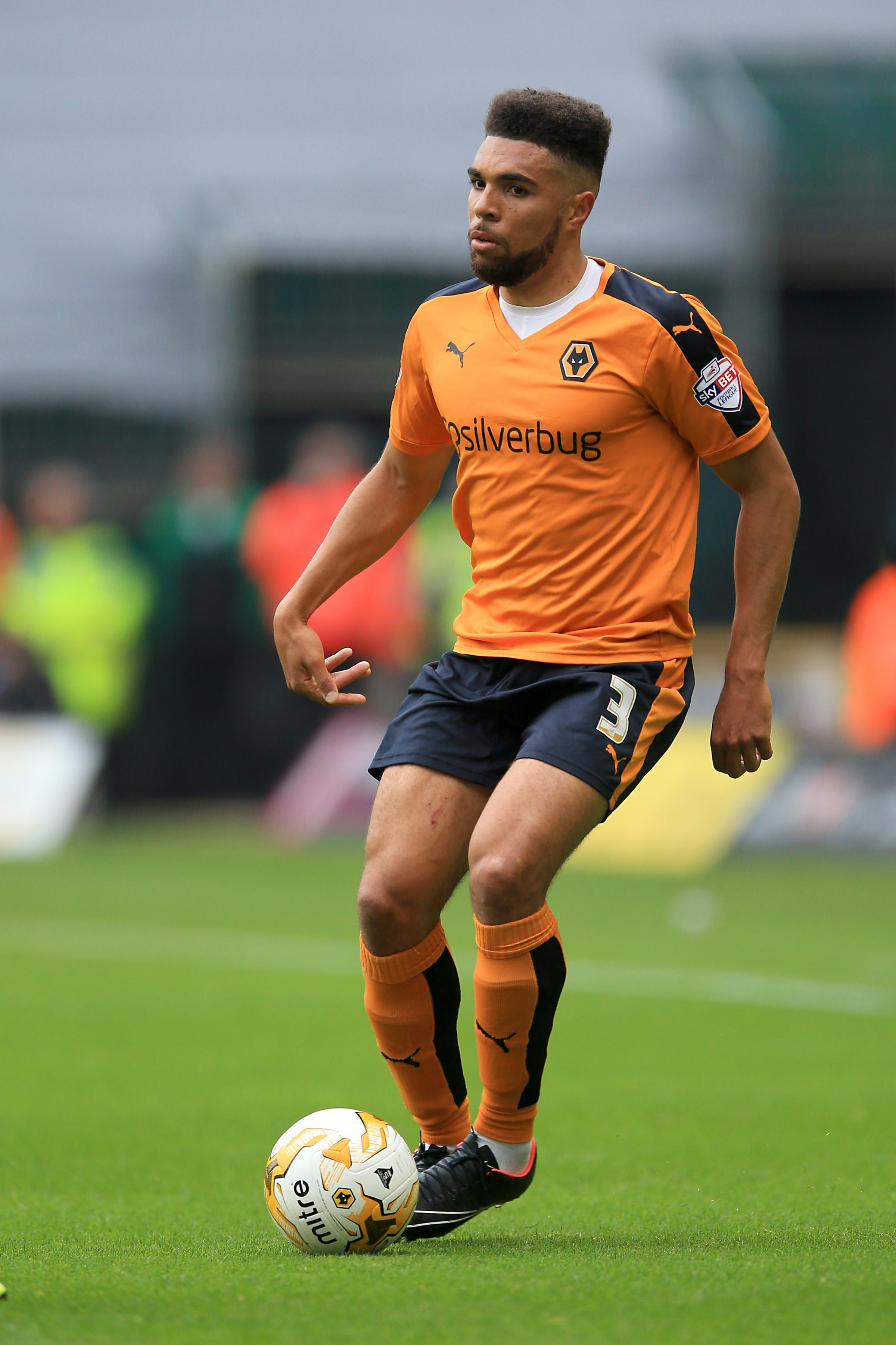 Training with Blues - former Wolverhampton Wanderers defender Scott Golbourne