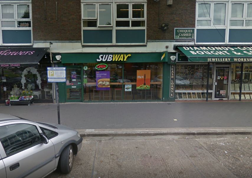 Masked man steals hundreds in cash after threatening takeaway staff with knife