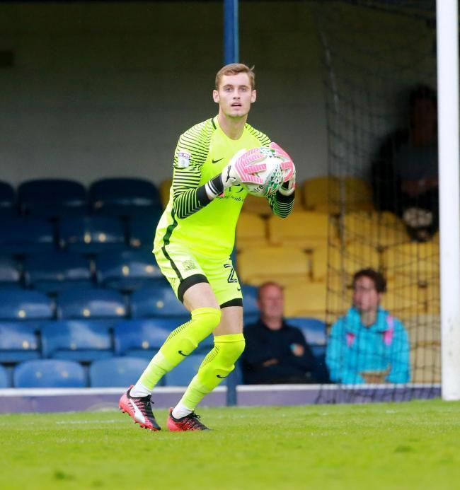 Pushing for a recall - Southend United goalkeeper Ted Smith