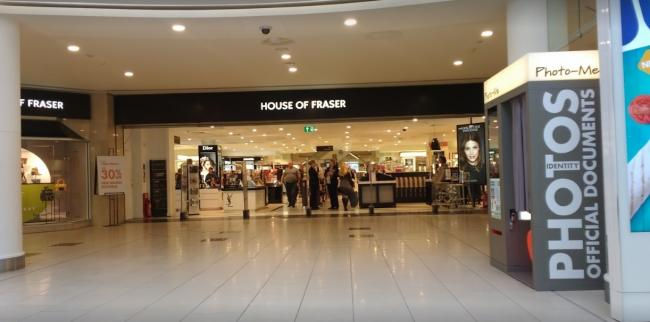 71eb51f308e90 Lakeside s House of Fraser to remain open despite closure fears