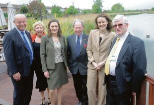 VIP visit – the shadow transport secretary Theresa Villiers visited Castle Point and met councillors Mark Howard, Vera Partridge, Rebecca Harris, Ray Howard and Alf Partridge.