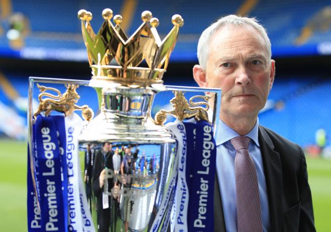 Moving on - Richard Scudamore