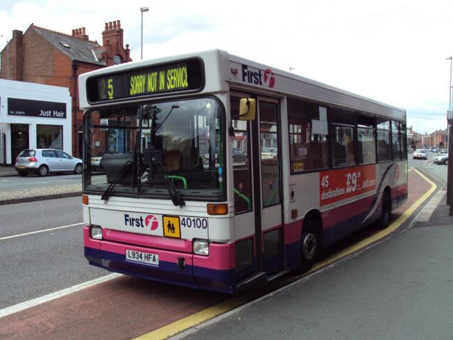 first bus