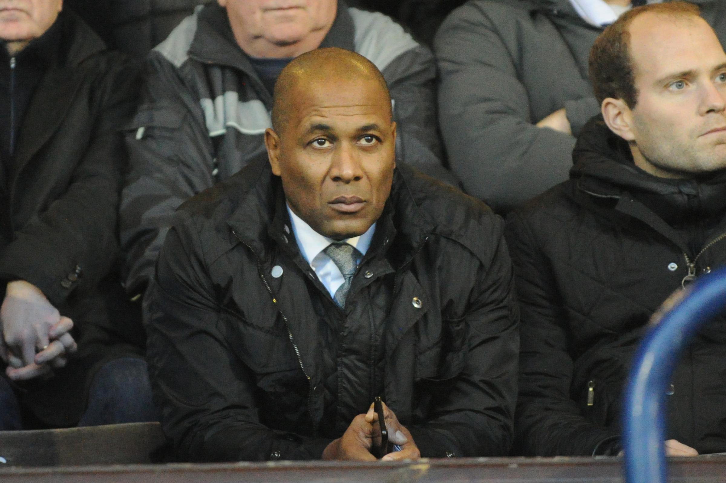 Watching on - Les Ferdinand was at Roots Hall on Saturday