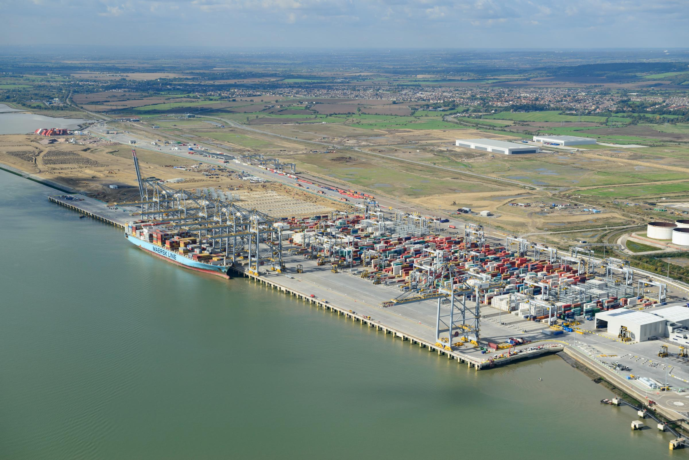 DP World London Gateway pic by Nick Strugnell