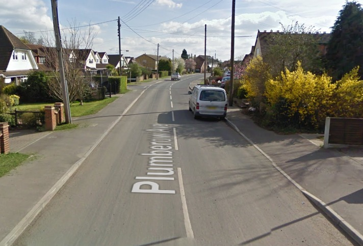 The man died in Plumberow Avenue. Pic: Google