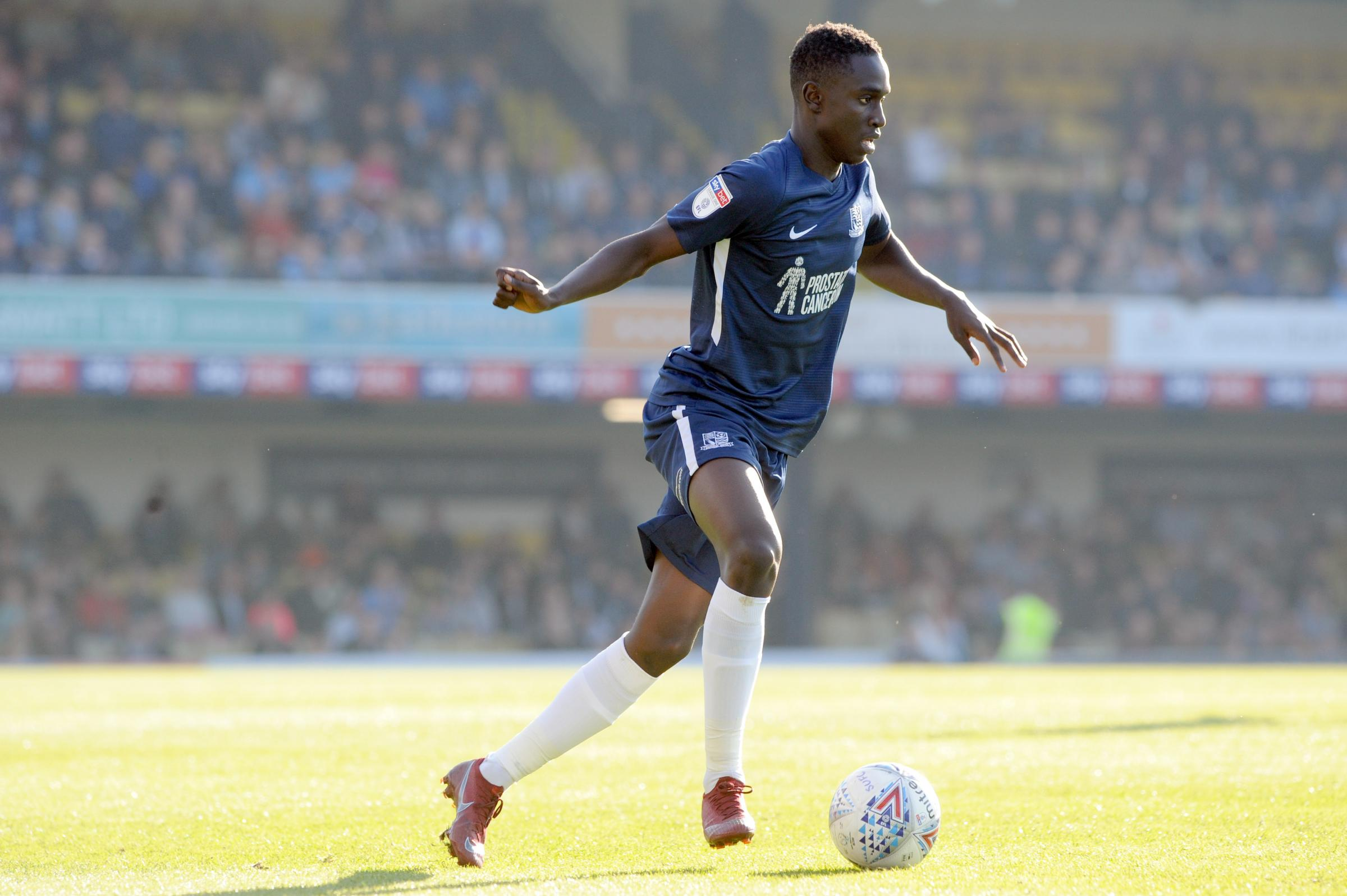Extended run in the team - for Southend United defender Elvis Bwomono