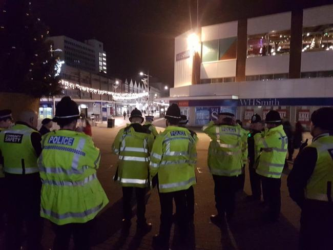 Southend High Street NYE dispersal order