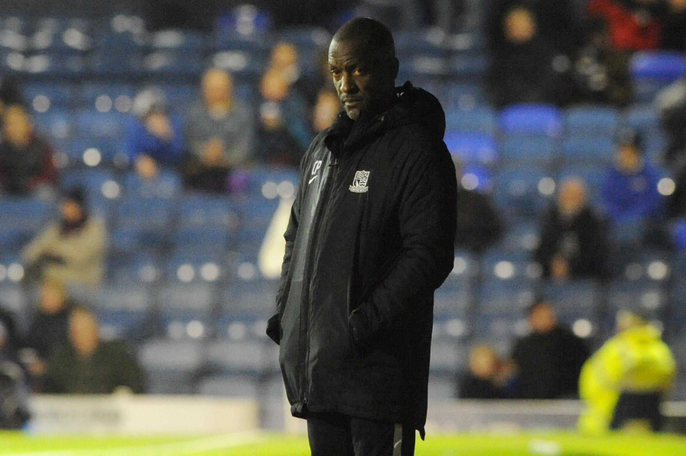 Frustrated - Southend United manager Chris Powell