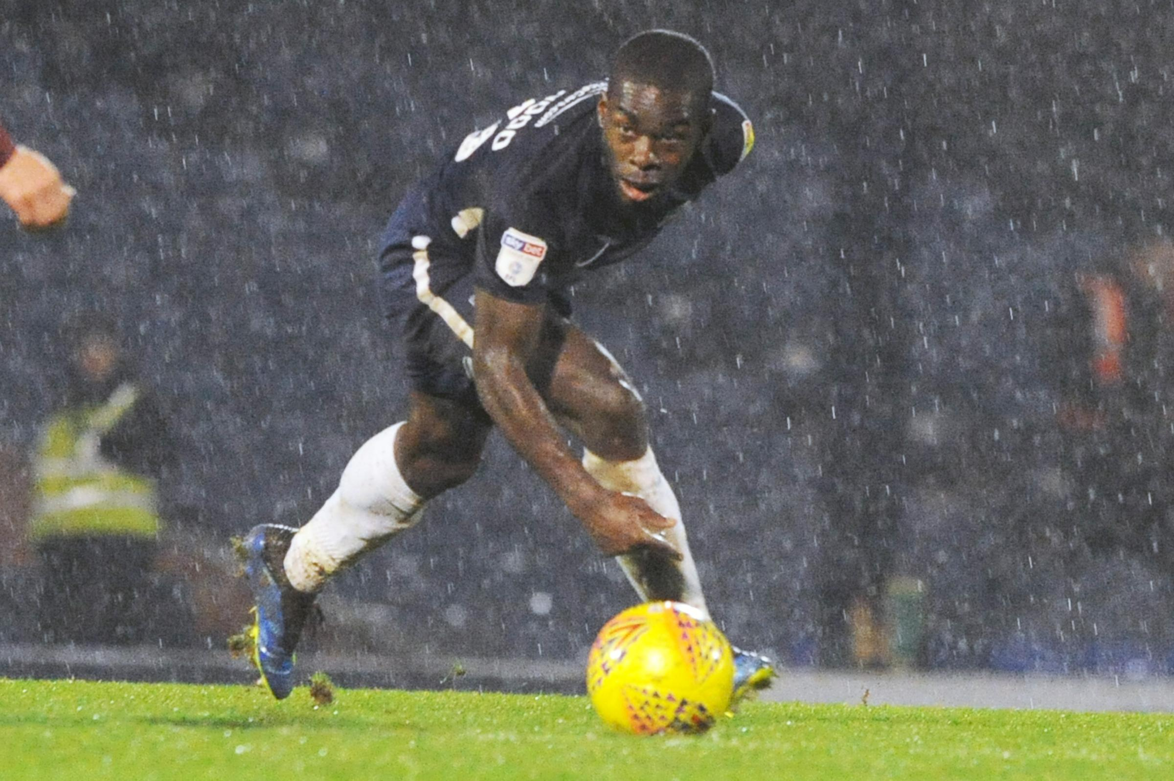 Landmark - Southend United midfielder Dru Yearwood will make his 50th appearance for Blues this weekend