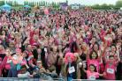 Race for Life at Garon Park southend 07/05/2017 The warm up
