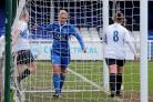 Eight goals - Zoe Rushen was in fine form at the weekend