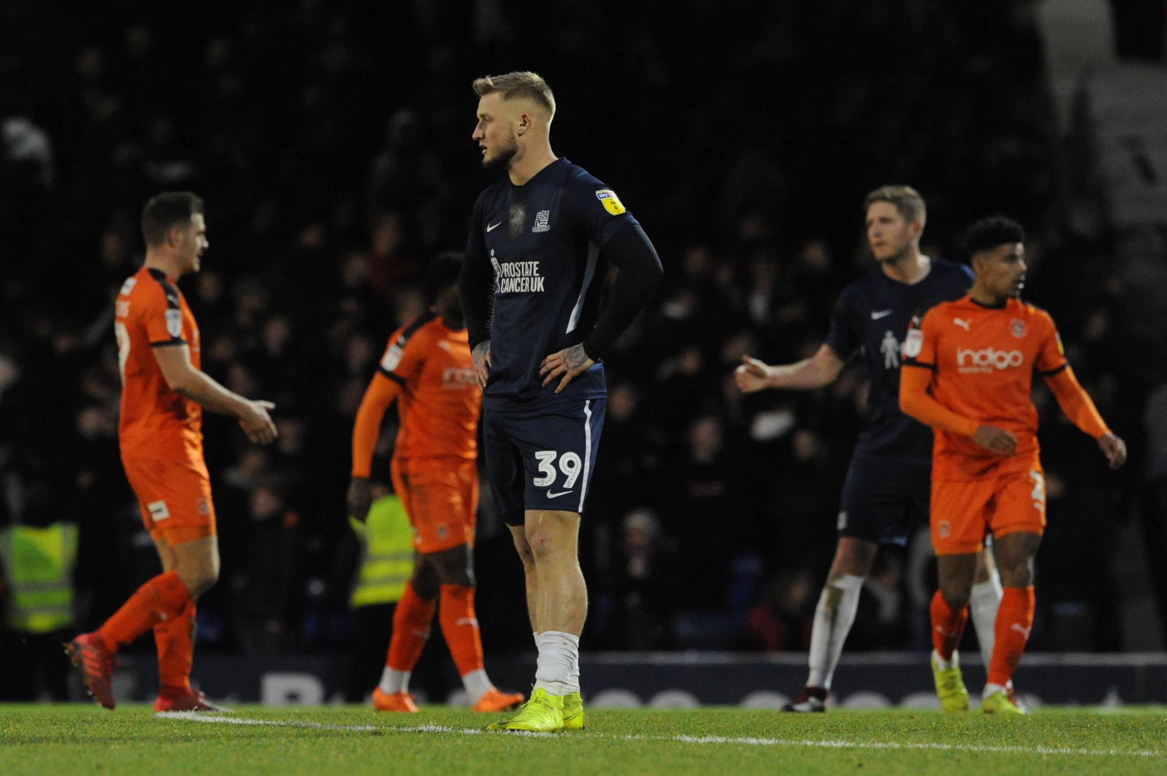 Frustrated - Southend United were beaten 1-0 by Luton Town at Roots Hall last weekend