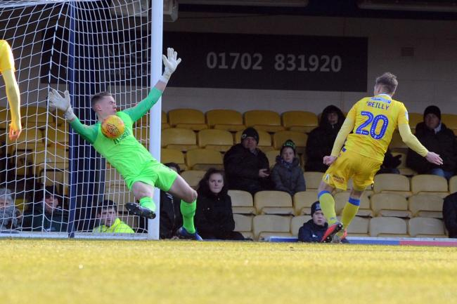 International call up - for Southend United goalkeeper Nathan Bishop