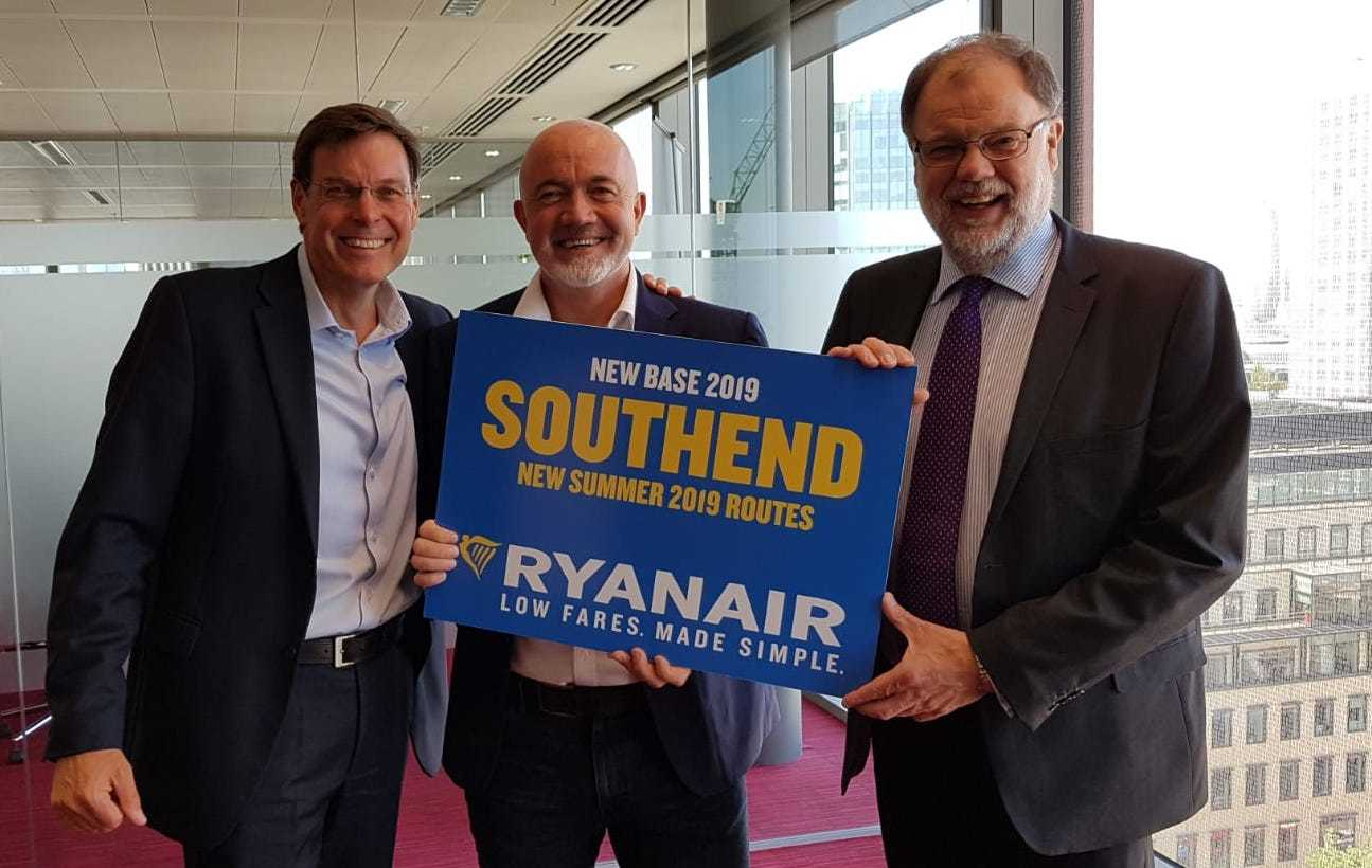 Ryanair coming to Southend