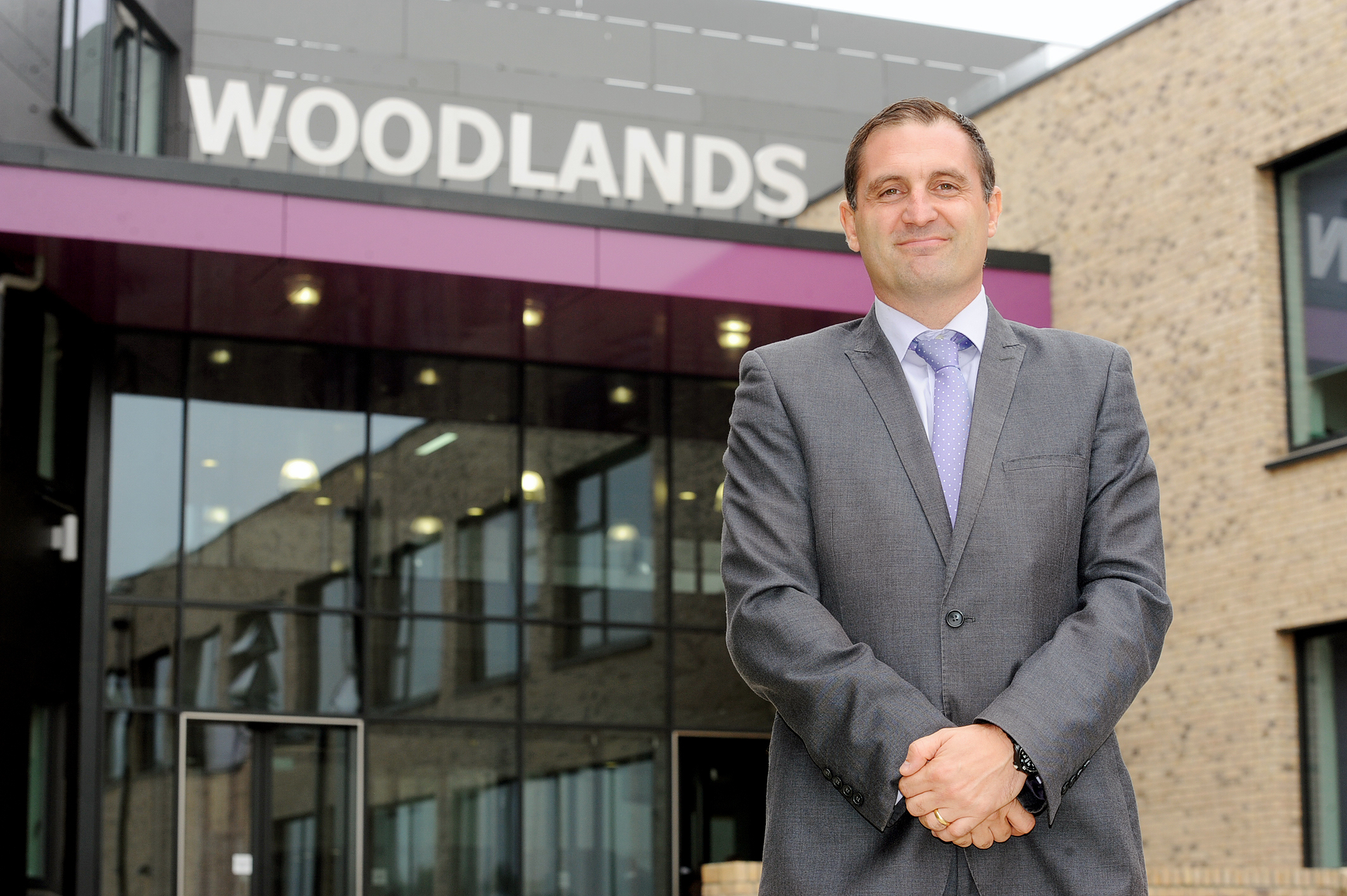 Headteacher Simon CoxWoodlands School, Woodlands Approach, Basildon.Job Details Interview with new headteacher Simon Cox about Ofsted report. MP Stephen Metcalfe will be there. Pictures: AL UNDERWOOD.Date   11/ 9 /14 Copyright Echo/ Newsquest 01268 4