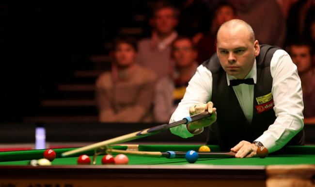 Into the final - snooker star Stuart Bingham