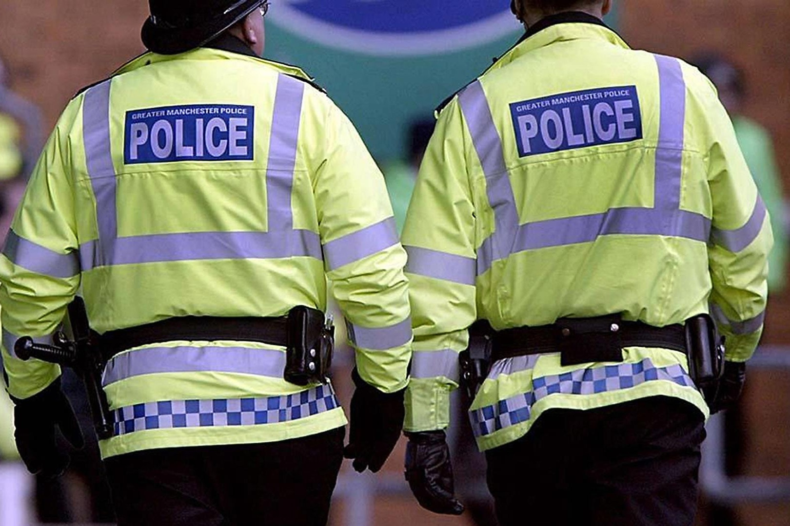 Greater Manchester Police officers on patrol (Dave Kendall/PA)