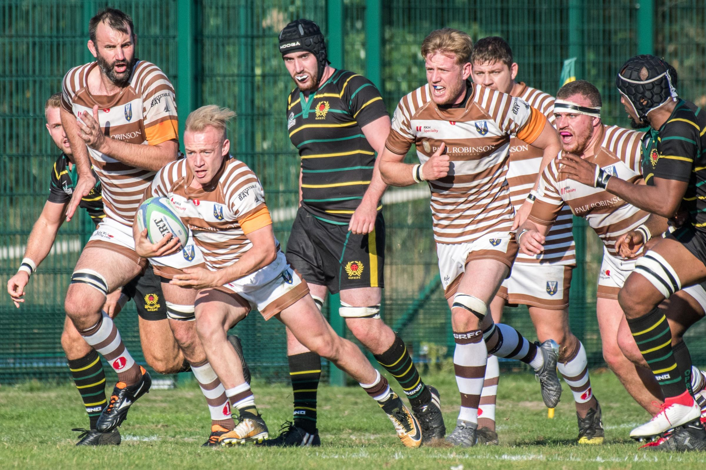 Wanting another win - Southend Saxons' Harry Branch