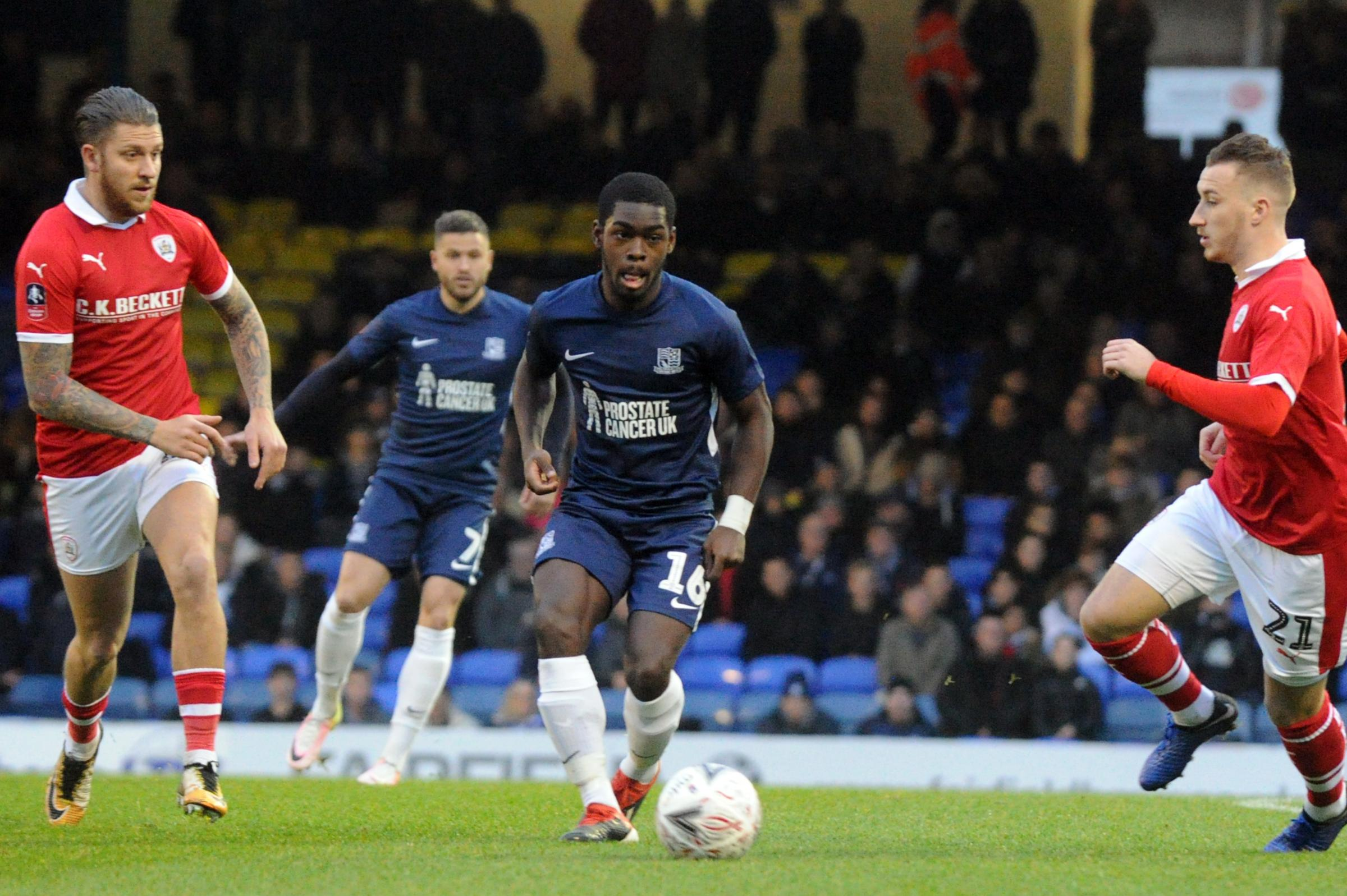 Frustrated - Southend United midfielder Dru Yearwood