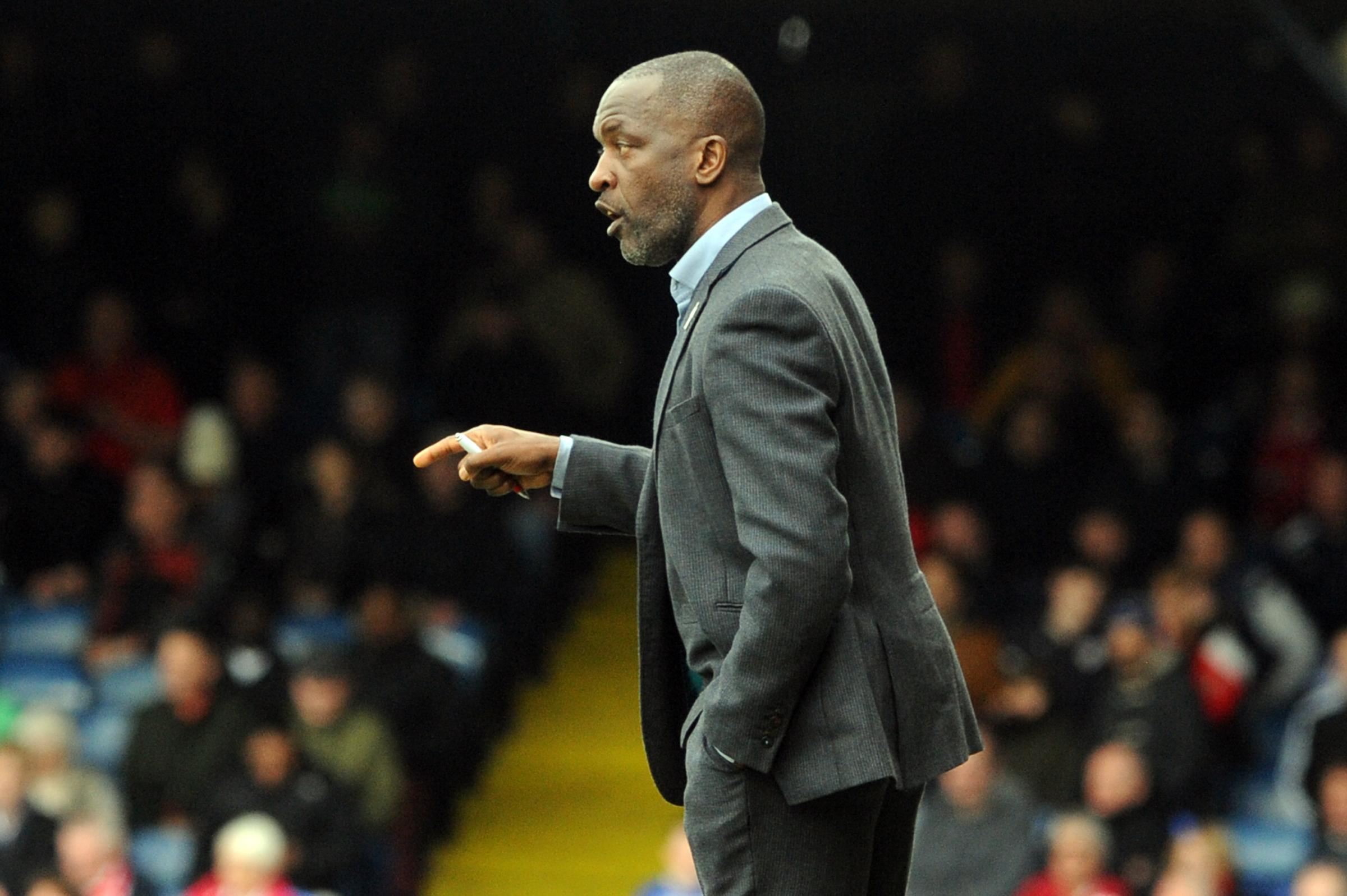 Wanting a win - Southend United manager Chris Powell