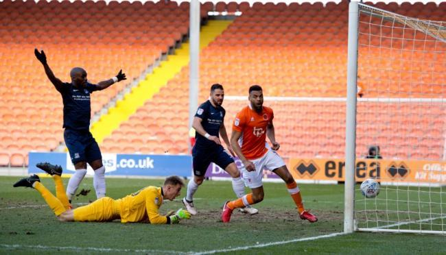 Flashback - Marc-Antoine Fortune nets for Southend United at Blackpool last season