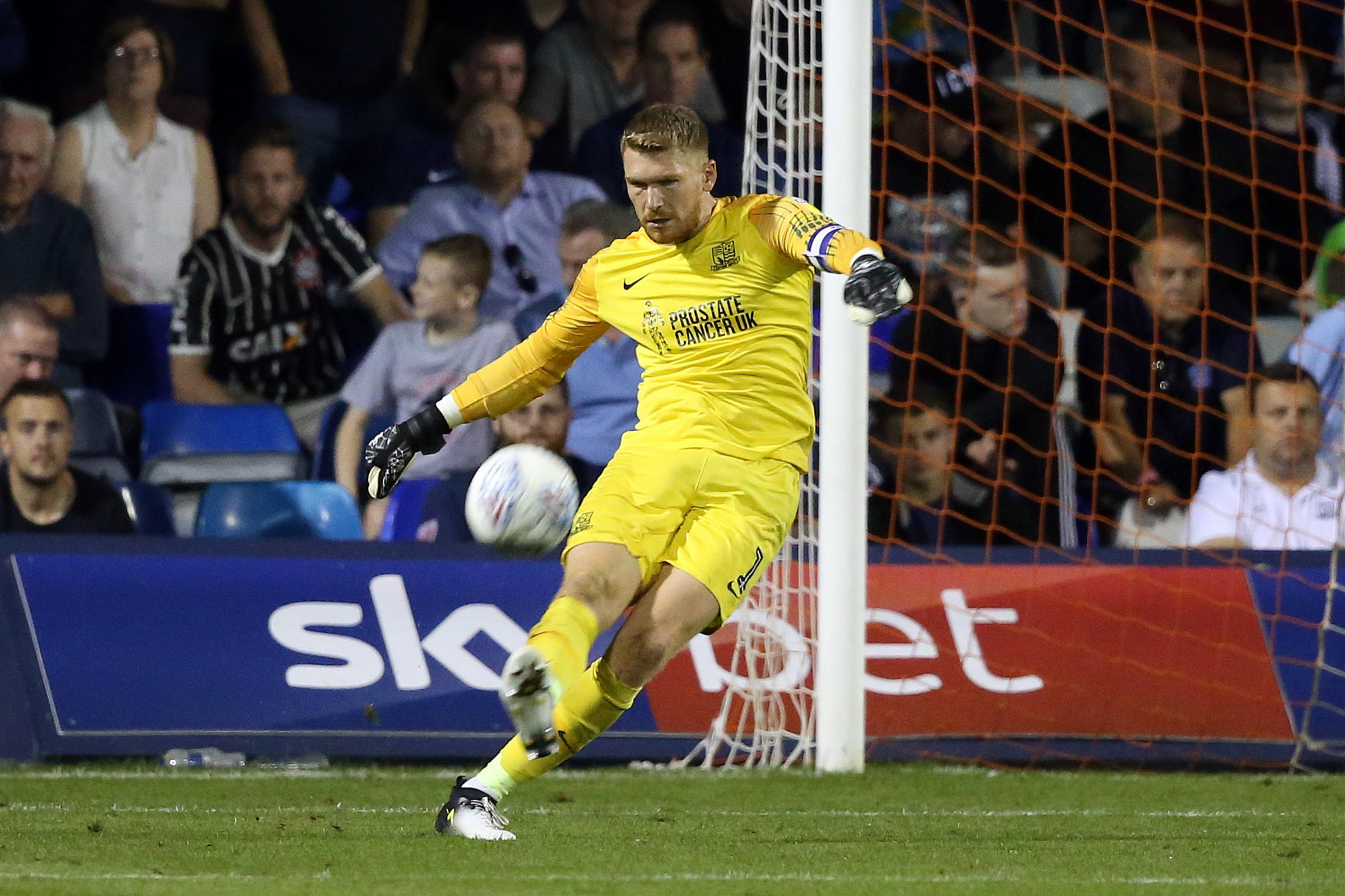 Close to returning - Southend United goalkeeper Mark Oxley