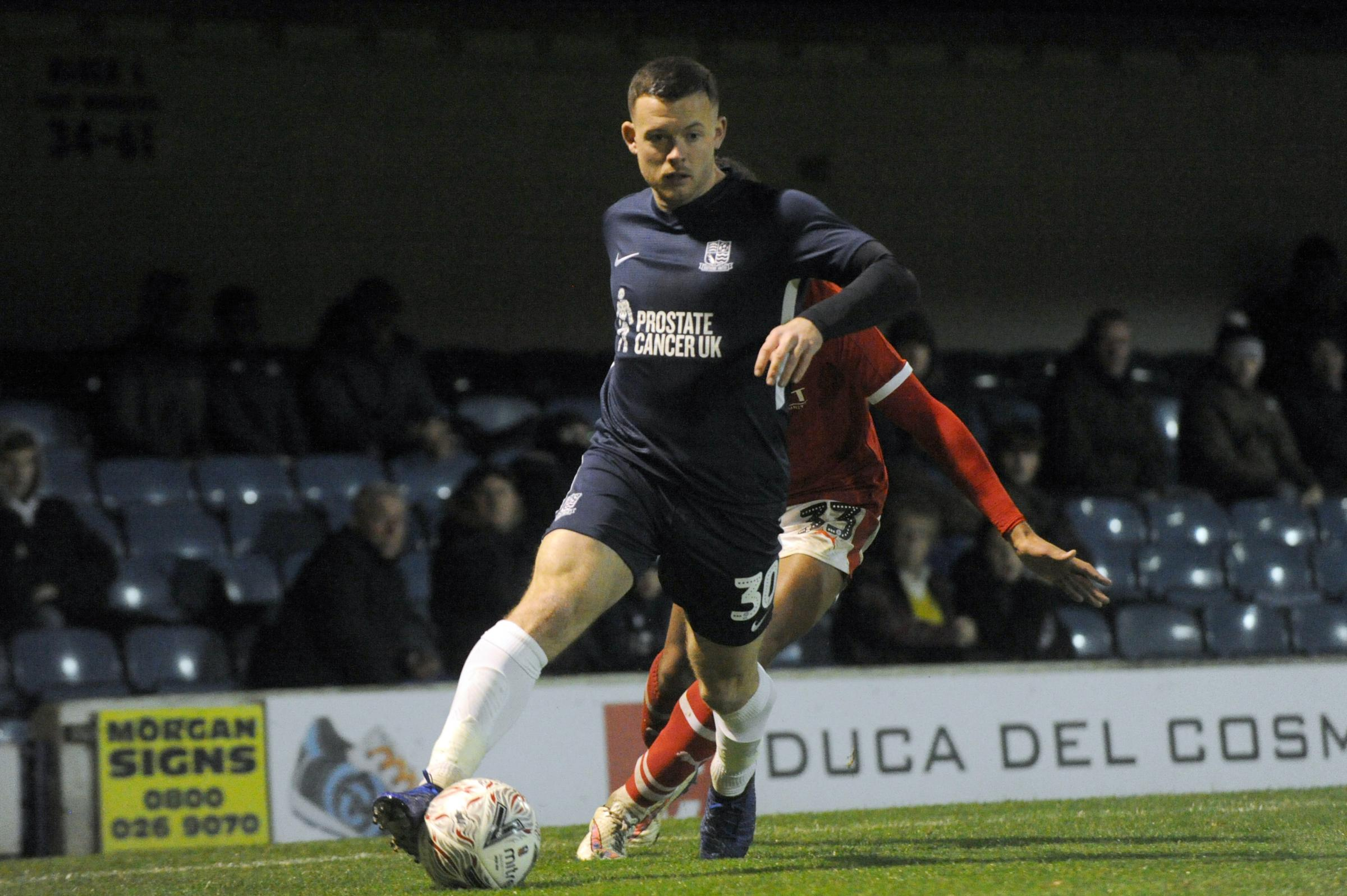 Back in the team - Southend United's Harry Bunn