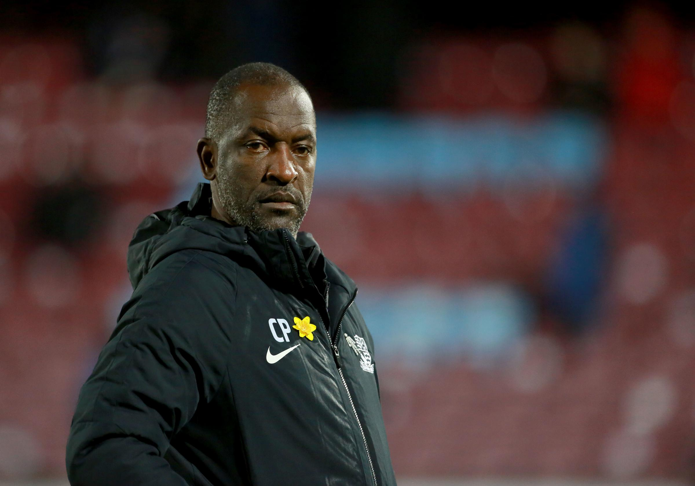 Determined - Southend United manager Chris Powell