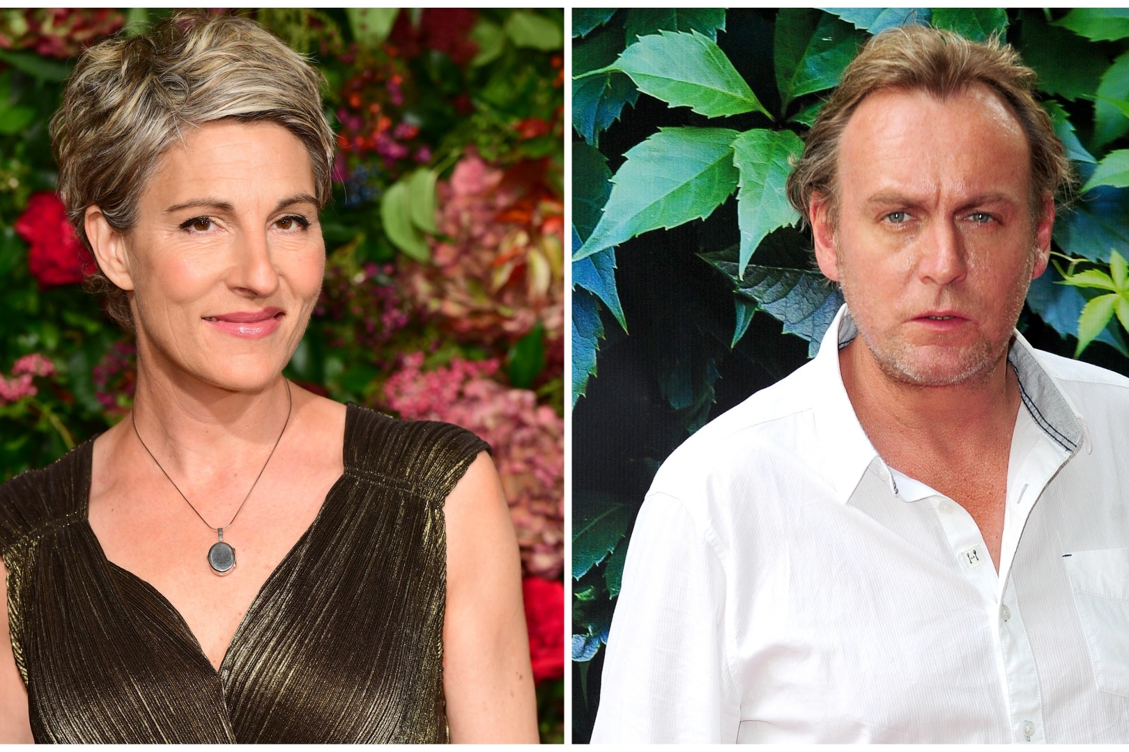 Tamsin Greig and Philip Glenister