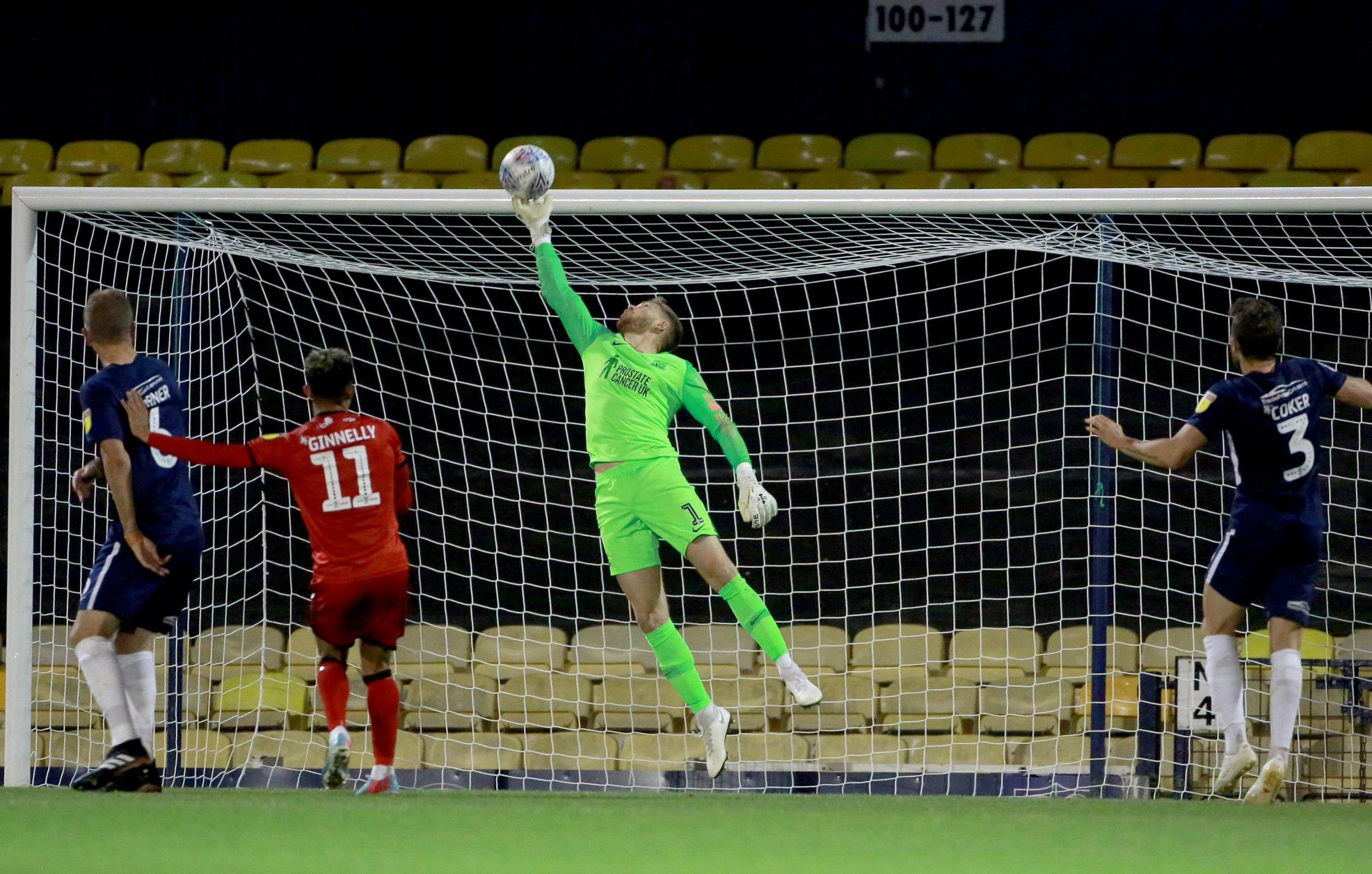 Back in contention - Southend United goalkeeper Mark Oxley