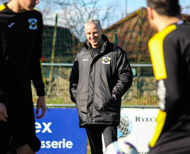Resigned - John Sussex stepped down as Basildon United boss after claiming five points from the opening 10 matches of the Isthmian North season Picture: MATTHEW THOWNEY