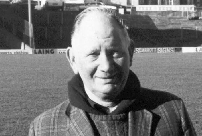 Being remembered - former Southend United groundsman Sid Broomfield