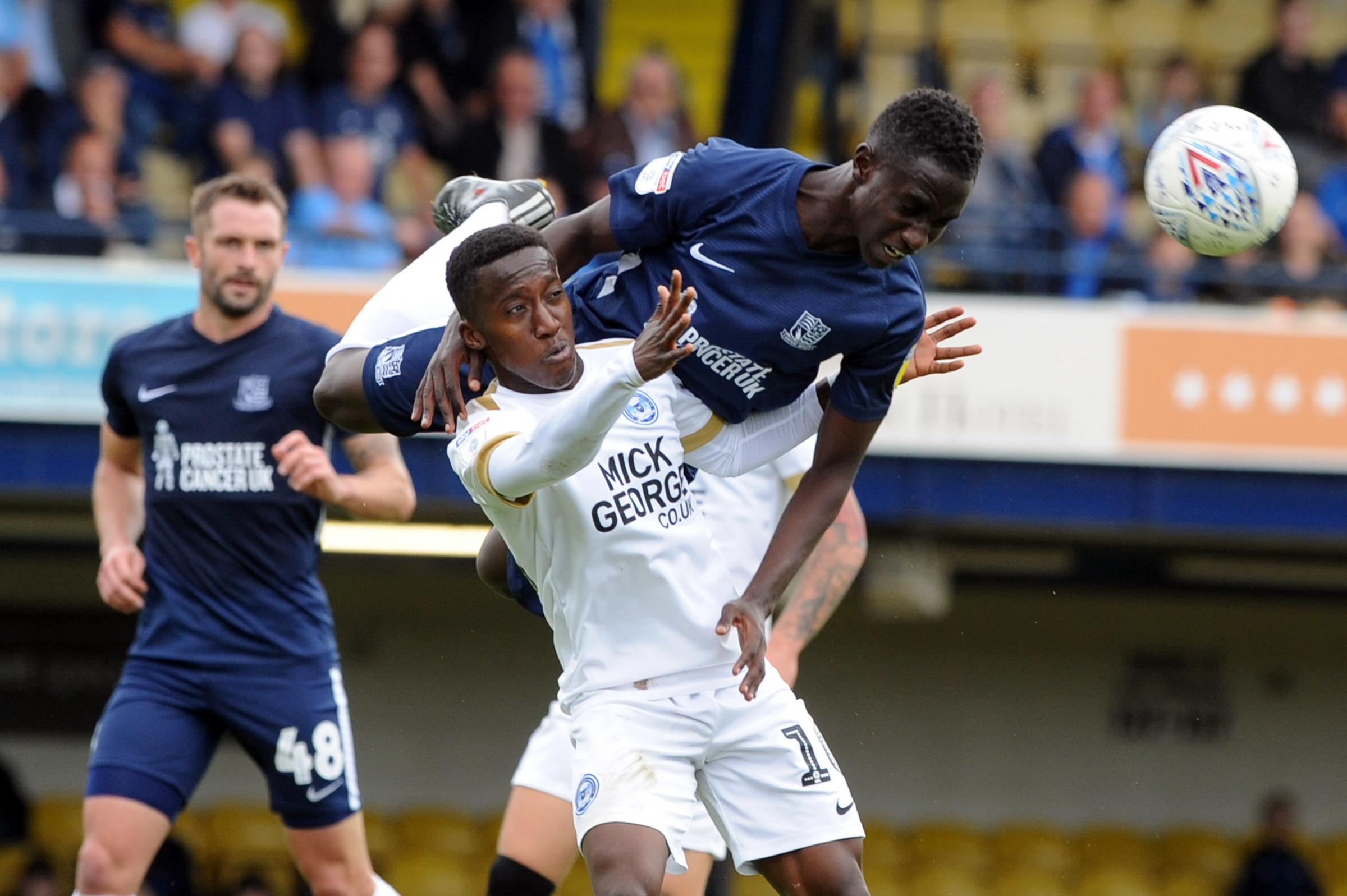 Missing out - Elvis Bwomono was not in Southend United's squad at Scunthorpe