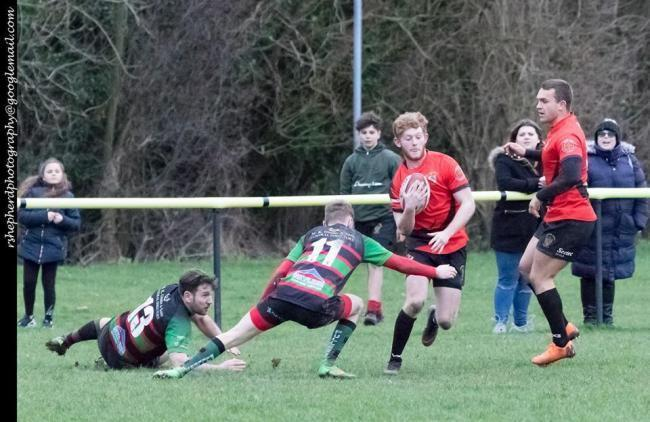 Try scorer - Rochford Hundred's Alfie Justice