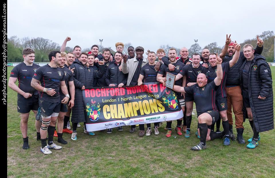 Champions - Rochford Hundred have won London One North