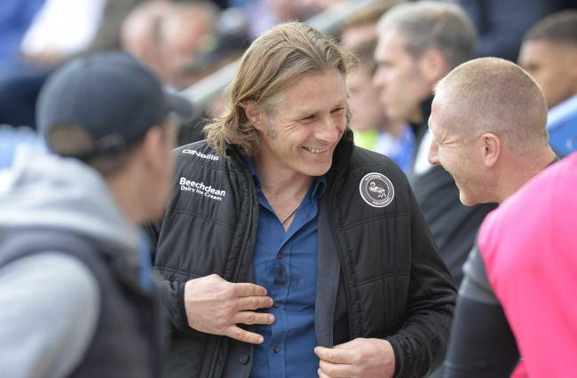 In charge - Wycombe Wanderers boss Gareth Ainsworth