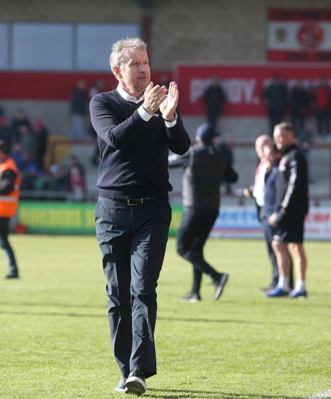 Determined - Southend United manager Kevin Bond