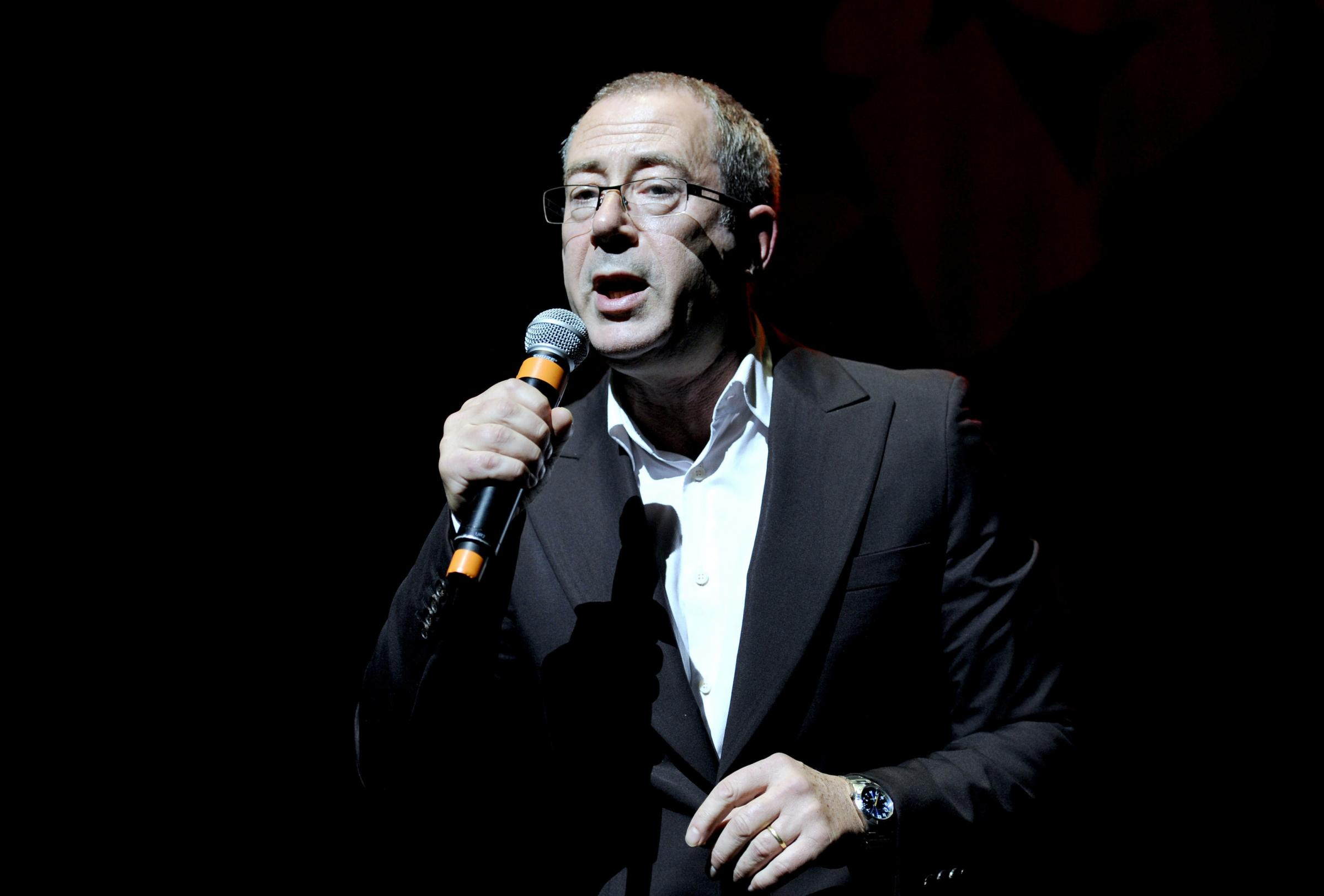 PA File Photo of File photo dated 19/12/12 of comedian and author Ben Elton, who has announced his first UK stand-up comedy tour for more than 10 years. See PA Feature BOOK Elton. Picture credit should read: Jonathan Brady/PA Photos. WARNING: This picture