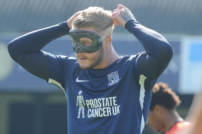 Sidelined - Southend United striker Stephen Humphrys