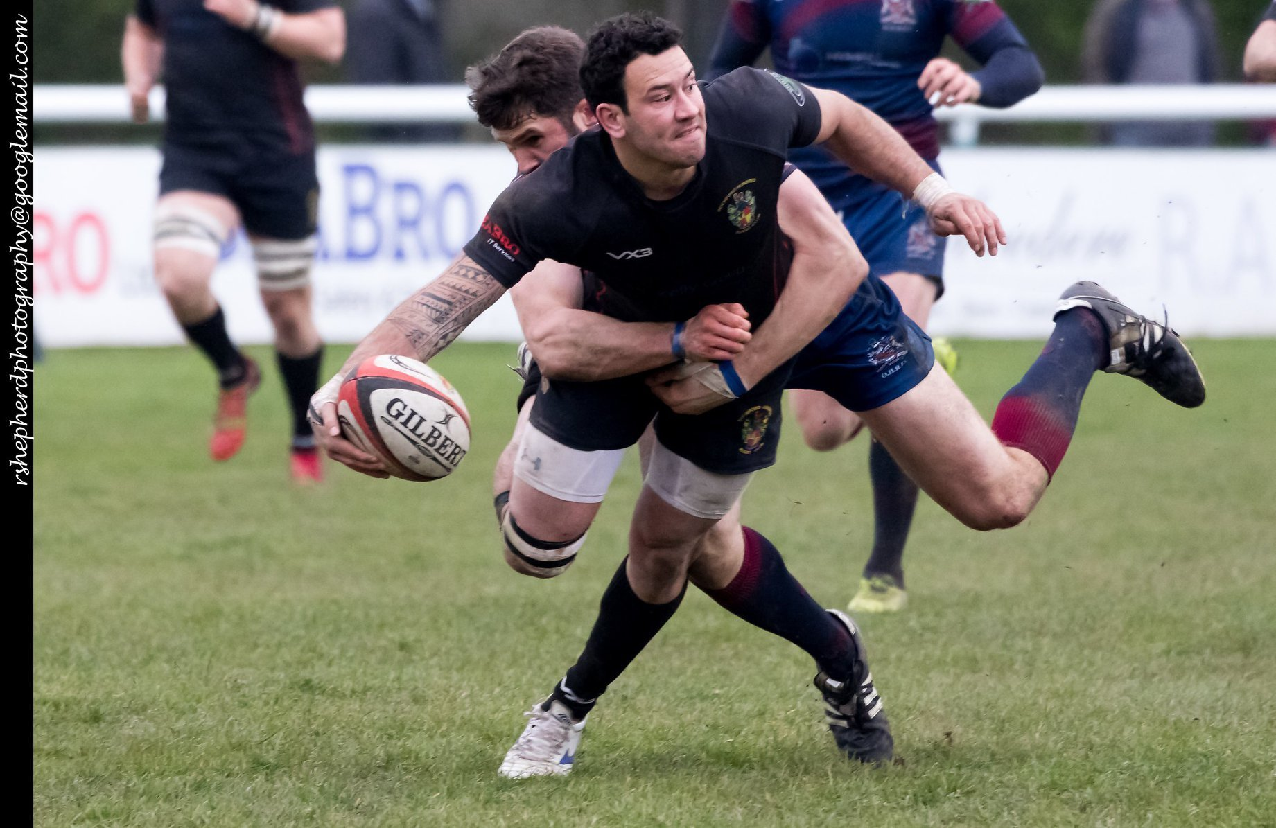 Two tries - Sonny Gay scored twice for Rochford on the final day of the season