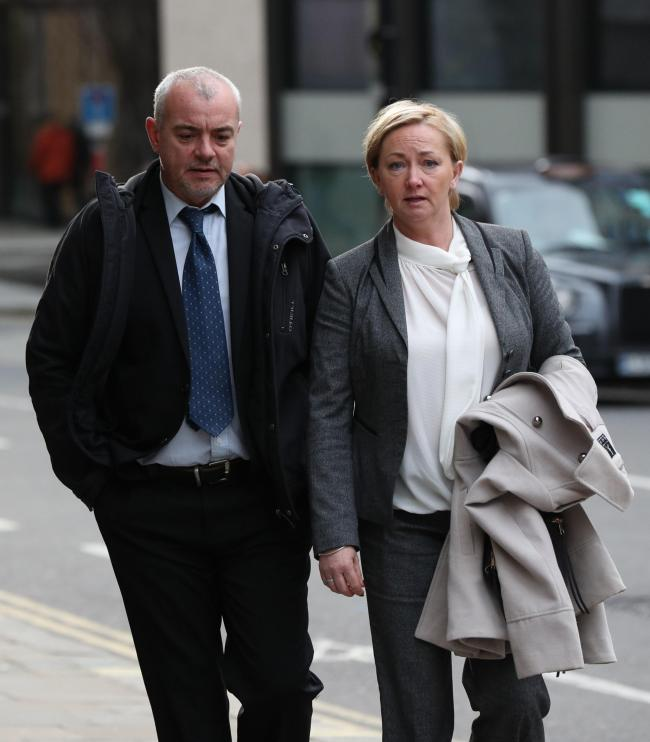 File photo dated 14/1/2019 of rogue police officers of Detective Constables Lee Pollard (left) and Sharon Patterson who have been found guilty of sabotaging child abuse investigations. PRESS ASSOCIATION Photo. Issue date: Thursday March 14, 2019. Patters