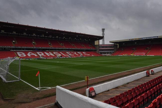 Police investigating an incident in the tunnel after a match at Barnsley Football Club on Saturday have arrested a man on suspicion of racially aggravated offences