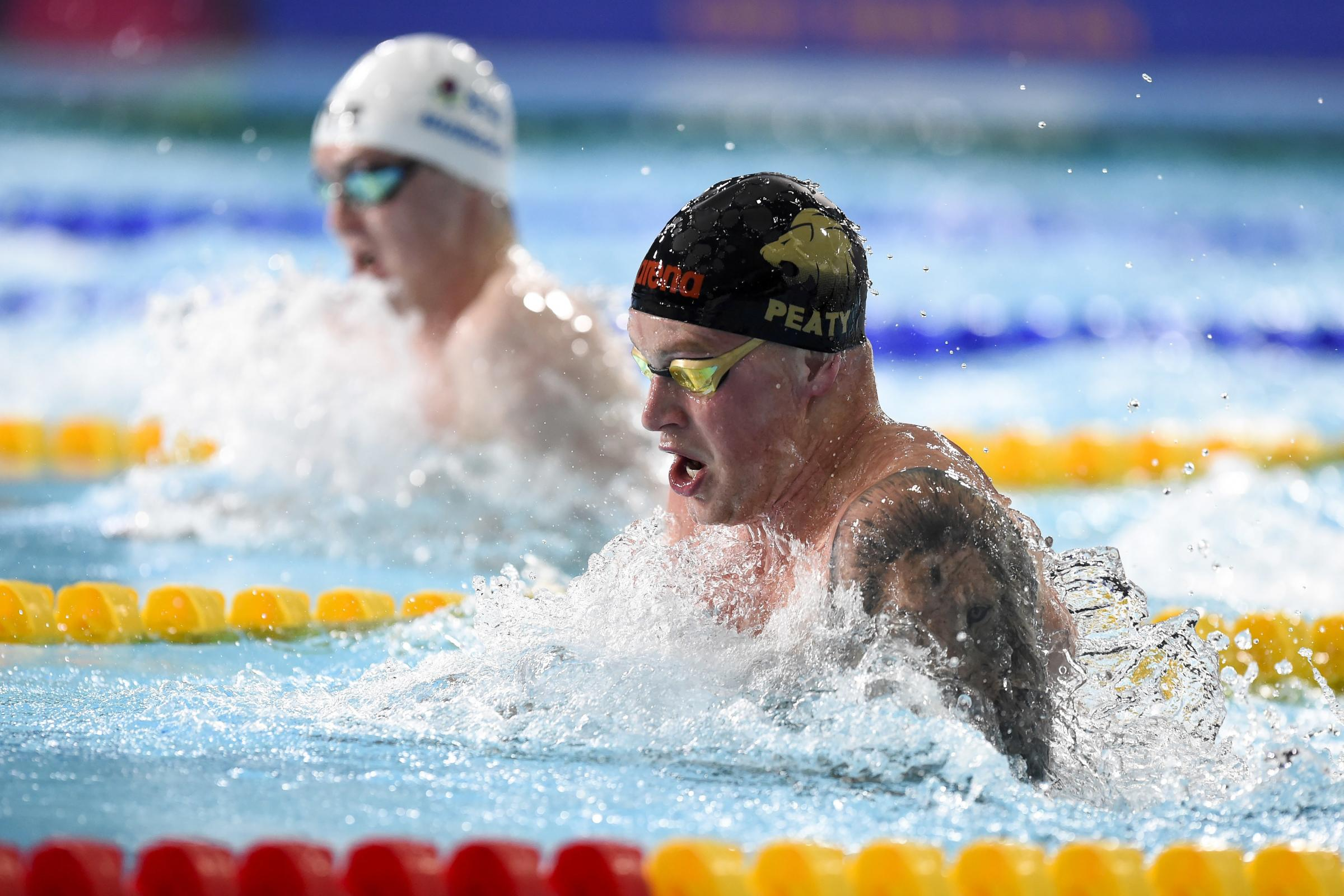 Adam Peaty won the 50m breaststroke for his second gold medal of the Birtish Championships in Glasgow